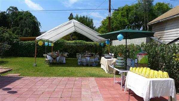 Party layout