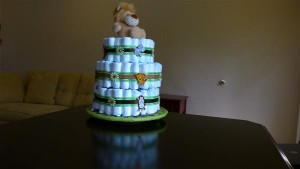 another view of cake